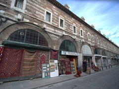 Storefronts near Süleymaniye Mosque