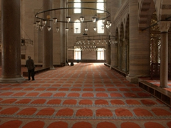 Interior of Süleymaniye