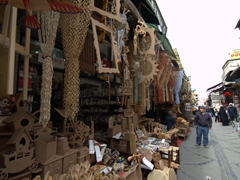 Stores on Uzunçarşı Caddesi (Longmarket Street)