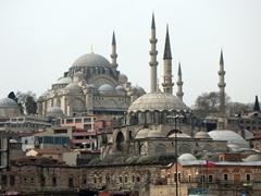 Süleymaniye and Rüstem Pasha Mosques