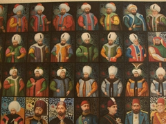 Portraits of Sultans; Military Museum