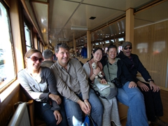 Smiling on our 6 hour Bosphorus Cruise