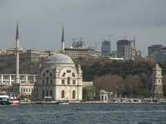 Dolmabahce Mosque and Clock Tower