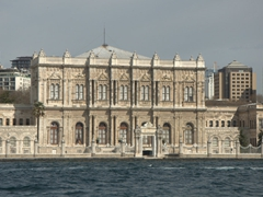 Dolmabahce Palace (the largest palace in Turkey)