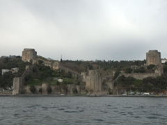 "13th century fortress Rumeli Hisari (also known as the ""Fortress of Europe"")"