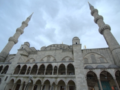 Parting look at the Blue Mosque