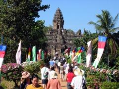 Entranceway to Bakong Temple