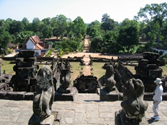 View from Bakong Temple