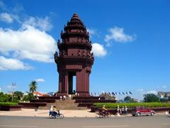 Independence Monument; Phnom Penh