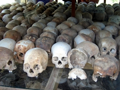 Killing Fields Display, Cheung Ek
