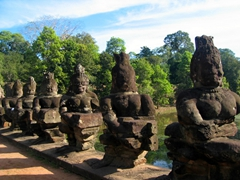 108 Demons Guarding Angkor Thom