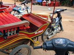 Mr. Phat's rickshaw