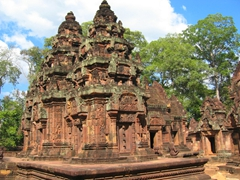 "Banteay Srei, ""Citadel of the Women"""