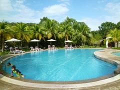 The inviting pool of Awana Porto Malai Hotel; Langkawi