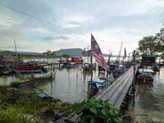 A jetty scene in Langkawi