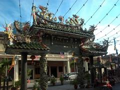 Archway of Hainan Clan Temple, Muntri Street, Penang