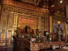 The main altar of Khoo Kongsi Temple