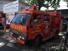 Fire engine in Georgetown, Penang