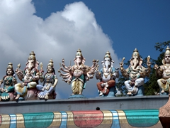 Detail of a Hindu Shrine near Batu Caves