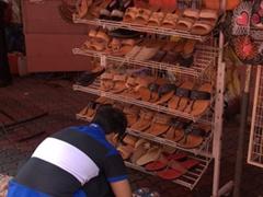 Malacca shoe seller