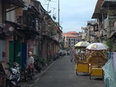 Street scene in Malacca