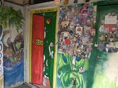 Funky street art; Malacca
