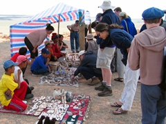 Fossil vendors, Flaming Cliffs