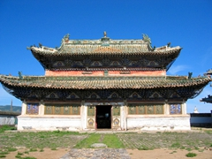 Erdene Zuu was once the center of Buddhism in Mongolia from 1596 until 1939, where the highest ranking monks throughout the country resided (a purge in 1939 by the communists wiped out countless monks and monasteries)