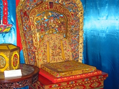 The throne of Bogd Khan; Winter Palace