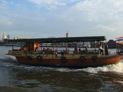 Bangkok has an extensive water transport system ferrying passengers along the Chao Phraya River
