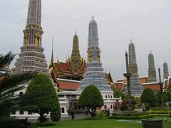 View of Wat Phra Kaew Complex
