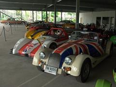 Car show room; Nong Nooch Garden