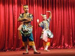 Cultural dance show at Karaweik Palace; Yangon