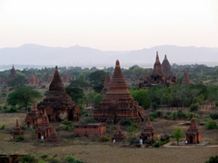 Hundreds of Pagodas scattered all over Bagan