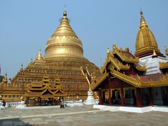 Bagan's Shwezigon Pagoda
