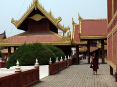 The Mandalay Royal Palace was a bit too reconstructed for our likes