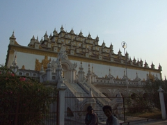 Typical Mandalay monastery