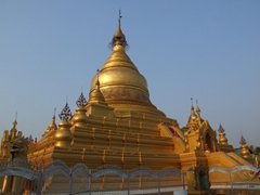 The main pagoda of Kuthodaw Paya; Mandalay