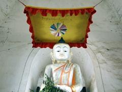 Interior of Maha Aungmye Bonzan; Inwa Monastery