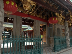 Thian Hock Keng Temple is the oldest Chinese temple in Singapore