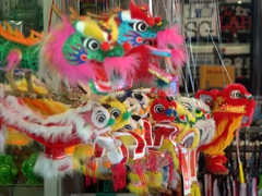 Fancy a Chinese dragon? Stock up on a colorful souvenir in Chinatown