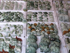 Jade trinkets for sale, Chinatown