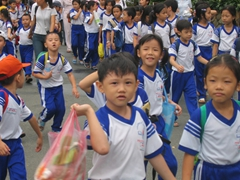 Uniformed School Kids, Saigon
