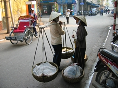 Street Vendors, Old Quarter, Hanoi