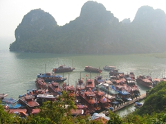 Ha Long Bay, view from Hang Dau Go Cave