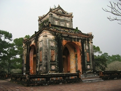 Entrance portal at one of Hue's mausoleums