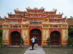 Portal to Pavilion of Everlasting Clarity, Forbidden Purple City, Hue