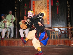Stage performance at Hoi An