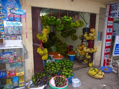 Fresh fruits and vegetables for sale; Dalat