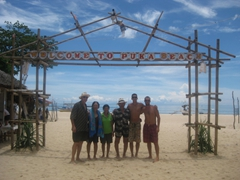 Puka Beach is located at the north end of Boracay and is an idyllic beach destination